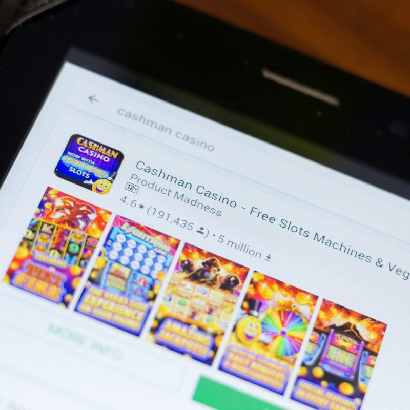 Online spillemaskiner