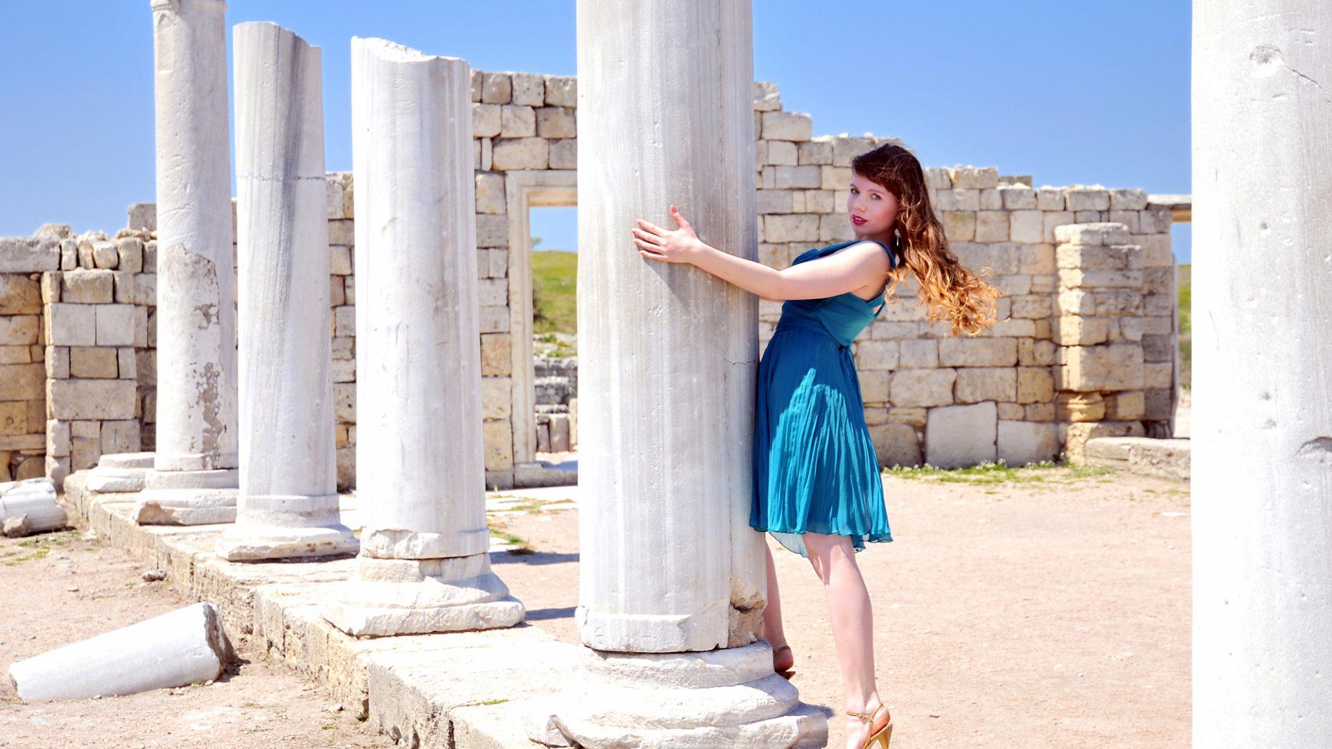 Venindetur til det græske øhav - Kvindernes blå bog